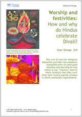 More information on Worship and festivities: How and why do Hindus celebrate Divali?