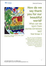 More information on How Do We Say Thank You for our Beautiful World? What can we learn from stories Christians tell?
