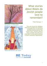 More information on What stories about Moses do Jewish people love to remember?