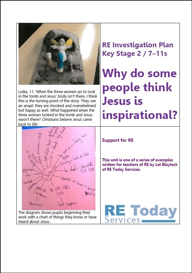 More information on Why do some people think Jesus is inspirational?