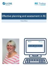 More information on Meaningful and manageable assessment for RE in the primary school - webinar recording